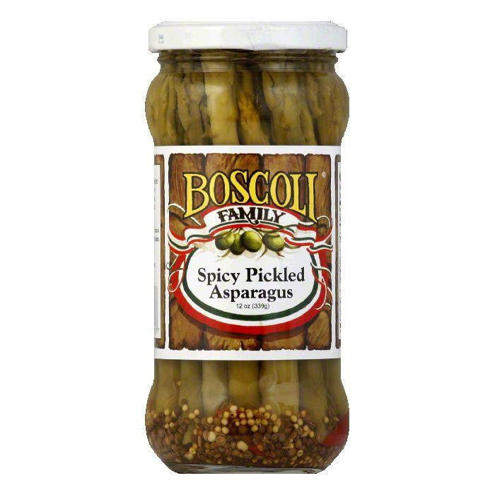 Boscoli Asparagus Spicy Pickled, 12 OZ (Pack of 6)
