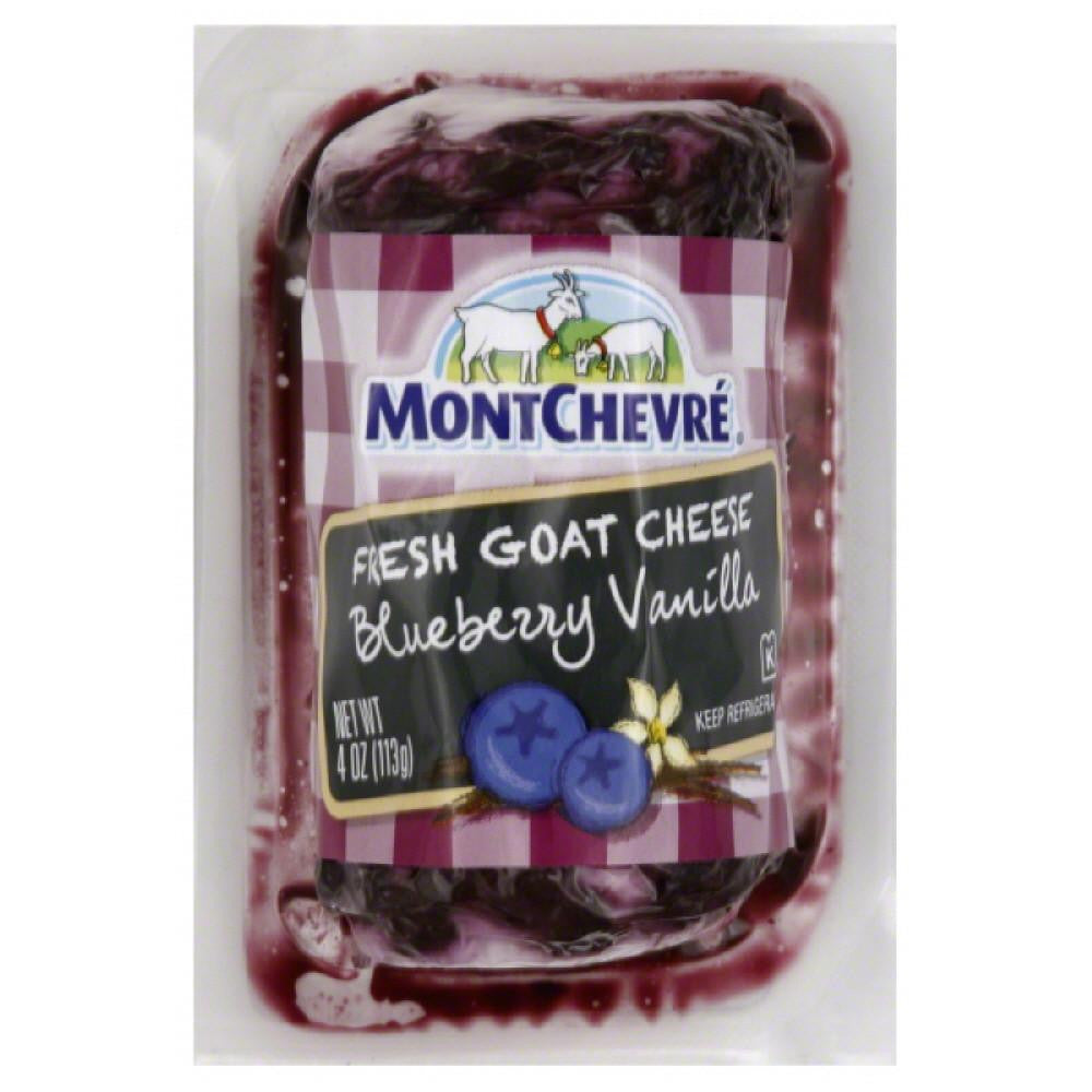 Montchevre Blueberry Vanilla Fresh Goat Cheese, 4 Oz (Pack of 12)