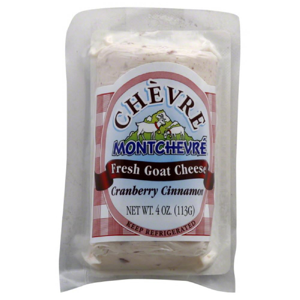 Chevre Cranberry Cinnamon Fresh Goat Cheese, 4 Oz (Pack of 12)