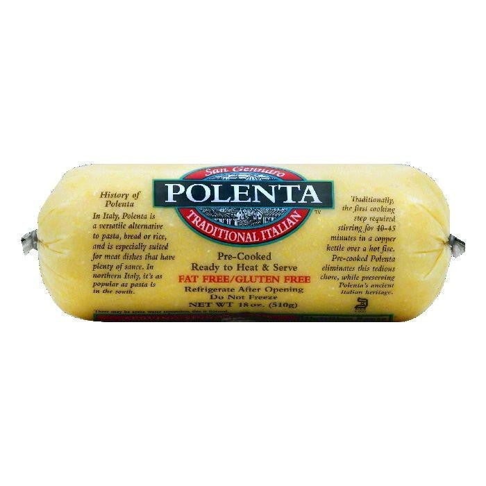 San Gennaro Traditional Italian Polenta, 18 OZ (Pack of 12)