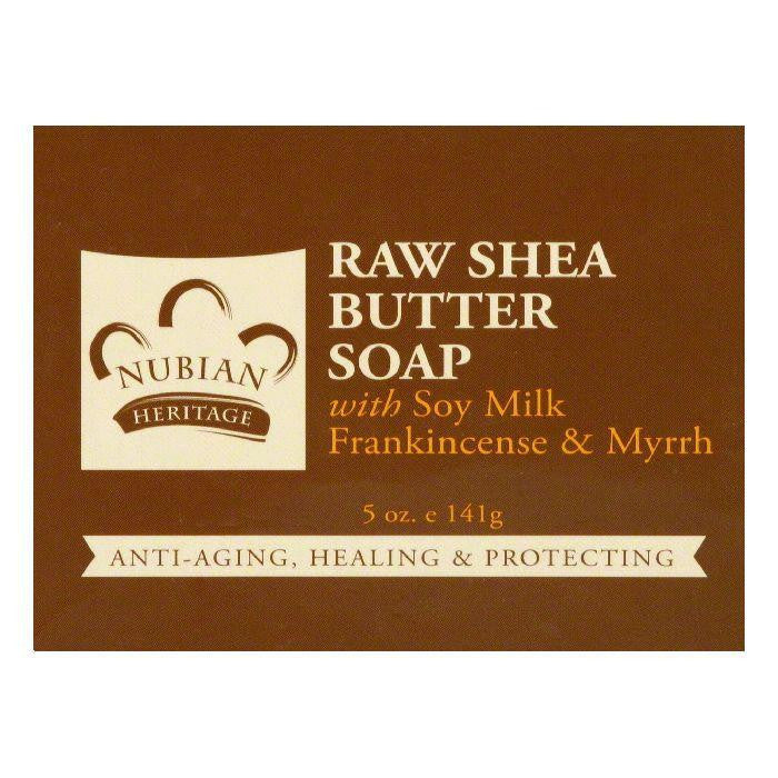 Nubian Heritage Raw Shea Butter Soap, 5 Oz