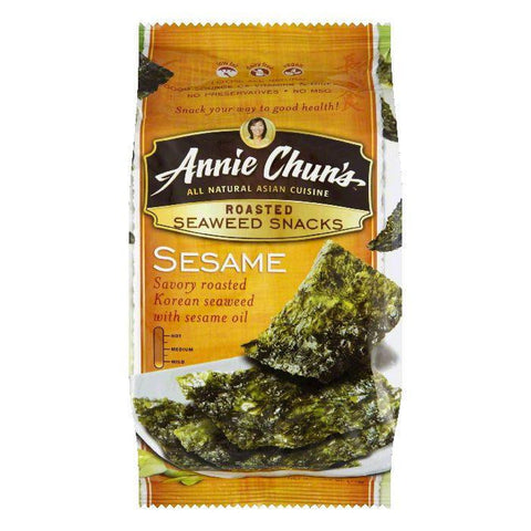 Annie Chuns Sesame Seaweed Snack, 0.35 OZ (Pack of 12)