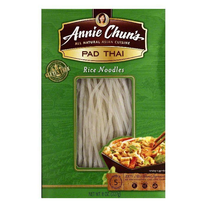 Annie Chuns Pad Thai Rice Noodles, 8 OZ (Pack of 6)