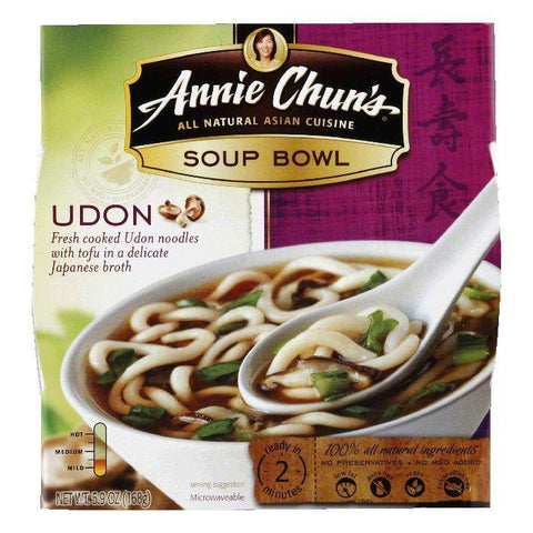 Annie Chuns Udon Soup Bowl, 5.9 OZ (Pack of 6)