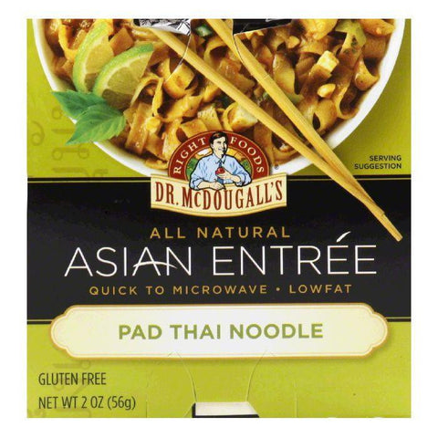 Dr. McDougall's Thai Noodle Entrees, 2 OZ (Pack of 6)