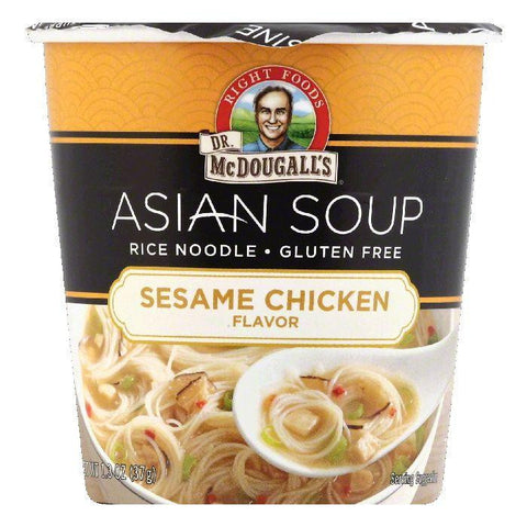 Dr McDougalls Sesame Chicken Flavor Asian Soup, 1.3 OZ (Pack of 6)