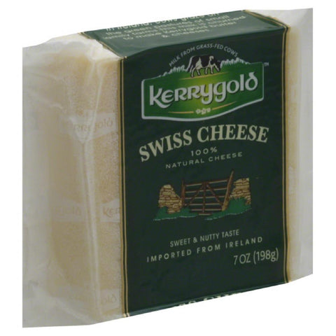 Kerrygold Swiss Cheese, 7 Oz (Pack of 24)