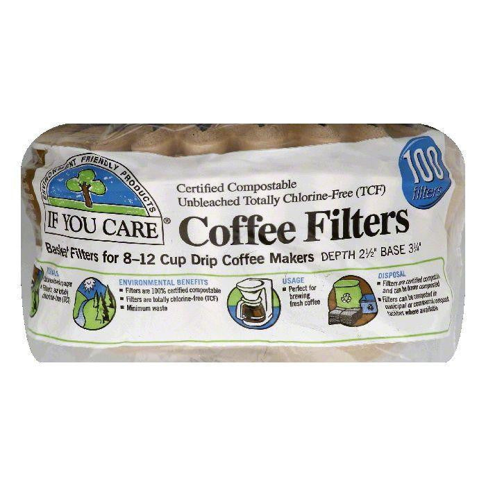 If You Care Basket Coffee Filters, 100 ea (Pack of 12)