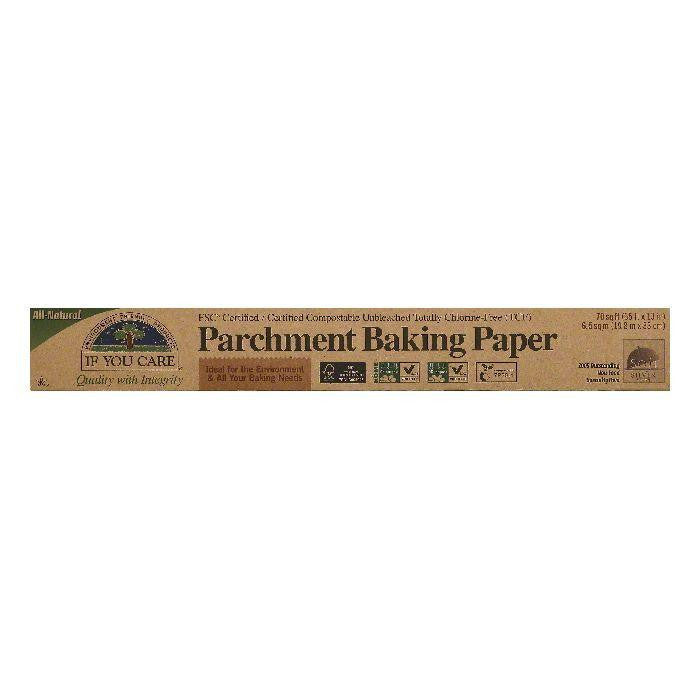 If You Care Parchment Baking Paper, 1 ea (Pack of 12)