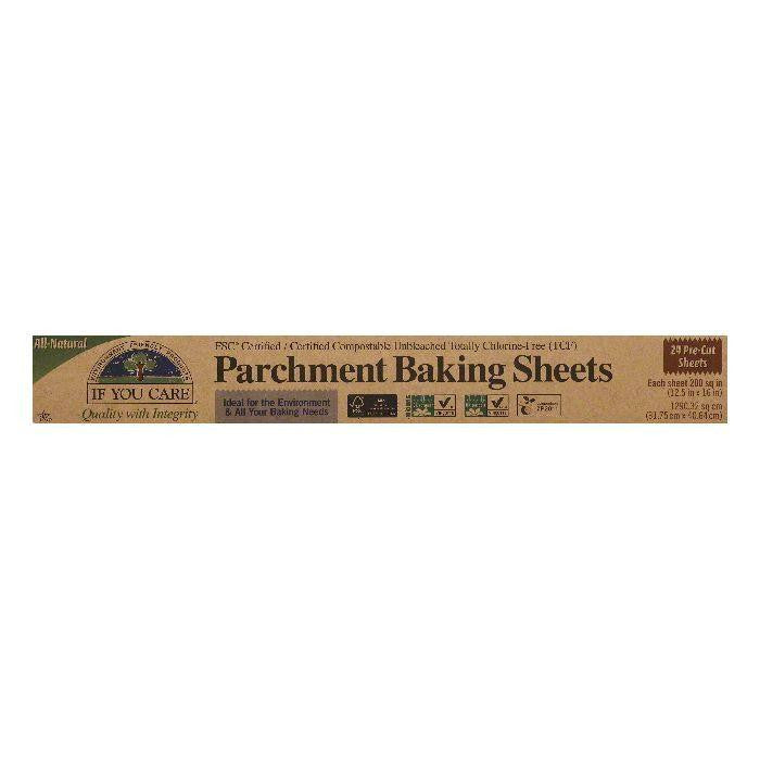 If You Care Parchment paper sheets, 24 PC (Pack of 12)