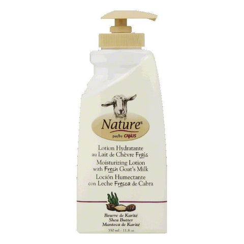 Canus Shea Butter with Fresh Goat's Milk Moisturizing Lotion, 11.8 OZ