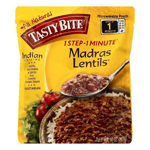 Tasty Bite Madras Lentils, 10 OZ (Pack of 6)