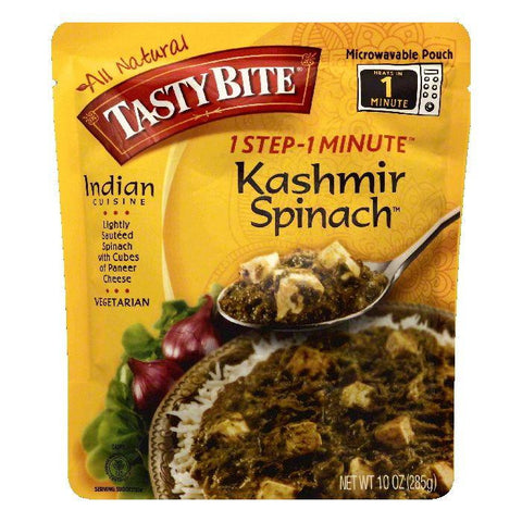 Tasty Bite Kashmir Spinach, 10 OZ (Pack of 6)