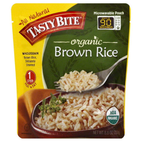 Tasty Bite Organic Brown Rice, 8.8 Oz (Pack of 6)