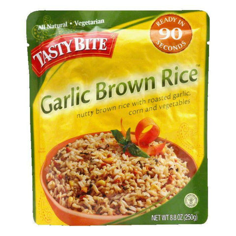 Tasty Bite Roasted Garlic Brown Rice, 8.8 OZ (Pack of 6)