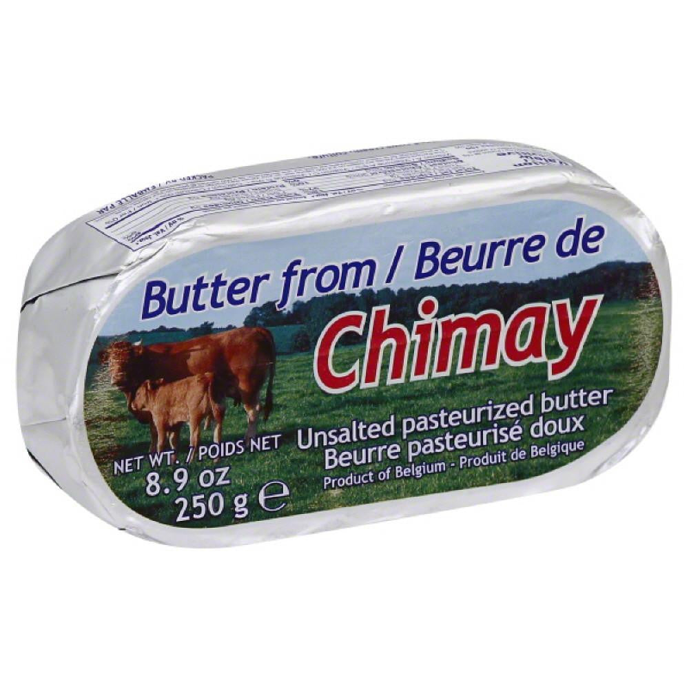 Chimay Pasteurized Unsalted Butter, 8.9 Oz (Pack of 20)