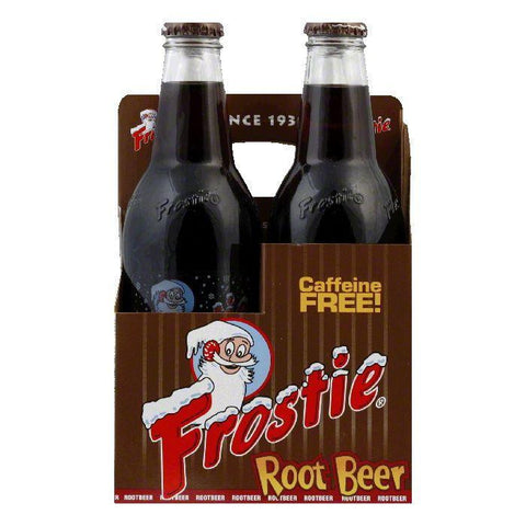 Frostie Root Beer 4 pack, 48 FO (Pack of 6)