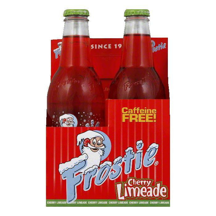 Frostie Naturals Cherry Limeade Soda 4 pack, 48 FO (Pack of 6)
