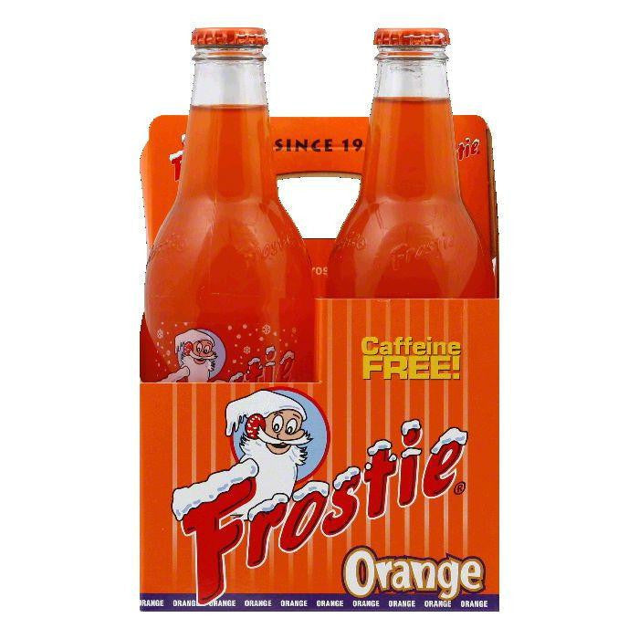 Frostie Naturals Orange Soda 4 pack, 48 FO (Pack of 6)