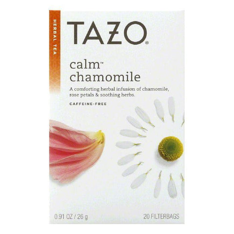 Tazo Tea Calm Herb Tea, 20 BG (Pack of 6)
