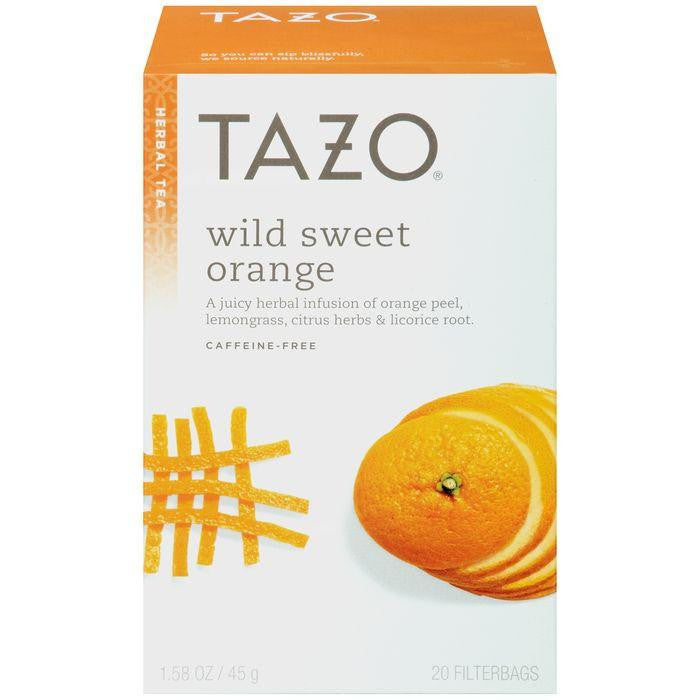 Tazo Wild Sweet Orange Herbal Tea 20 ct. (Pack of 6)
