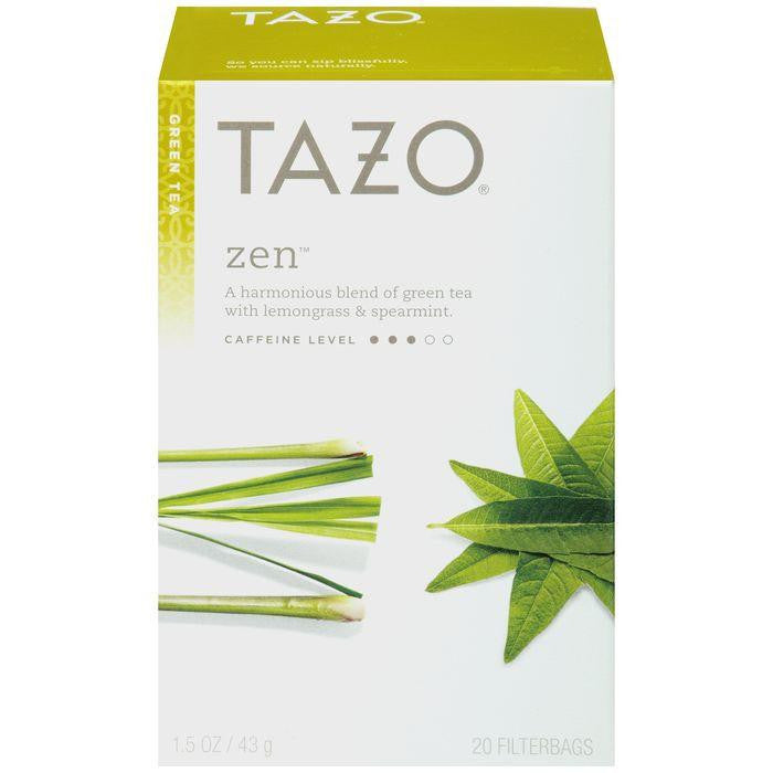 Tazo Green Tea Zen 20 ct. (Pack of 6)