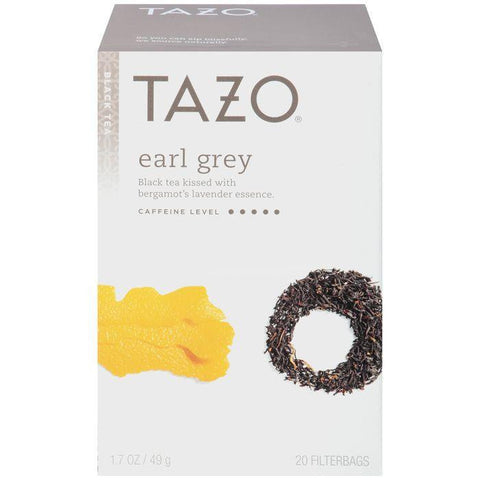 Tazo Earl Grey Black Tea 20 ct. (Pack of 6)