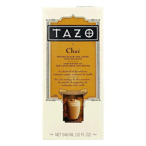 Tazo Tea Chai Concentrate Aseptic Pack, 32 FO (Pack of 6)