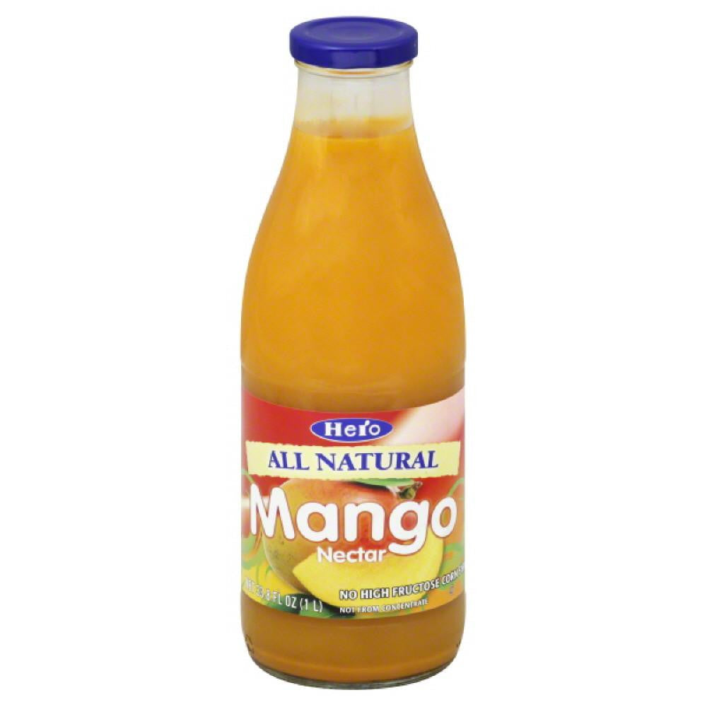 Hero Mango Nectar, 33.75 Fo (Pack of 6)