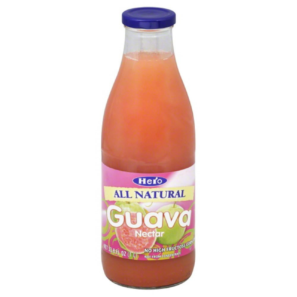 Hero Guava Nectar, 33.75 Fo (Pack of 6)