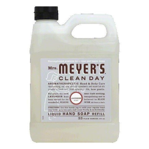 Mrs. Meyers Soap Refil Liquid Lavendar, 33 OZ (Pack of 3)