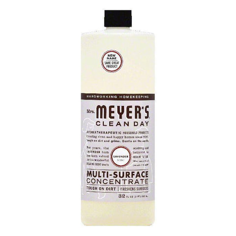 Mrs Meyers Lavender Scent Multi-Surface Concentrate, 32 OZ (Pack of 6)