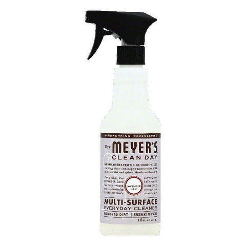 Mrs Meyers Lavender Scent Multi-Surface Everyday Cleaner, 16 OZ (Pack of 6)