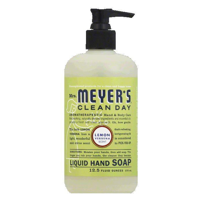 Mrs. Meyers Lemon Verbena Liquid Hand Soap, 12.5 OZ (Pack of 3)