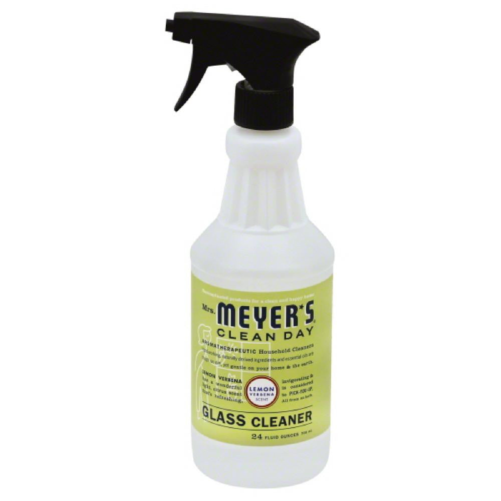 Mrs Meyers Lemon Verbena Scent Glass Cleaner, 24 Oz (Pack of 6)
