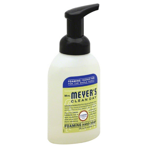 Mrs Meyers Lemon Verbena Scent Foaming Hand Soap, 10 Oz (Pack of 3)