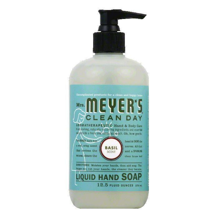 Mrs. Meyers Basil Liquid Hand Soap, 12.5 OZ (Pack of 3)