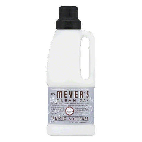 Mrs. Meyers Lemon Verbena Lavender Fabric Softener, 32 OZ (Pack of 6)