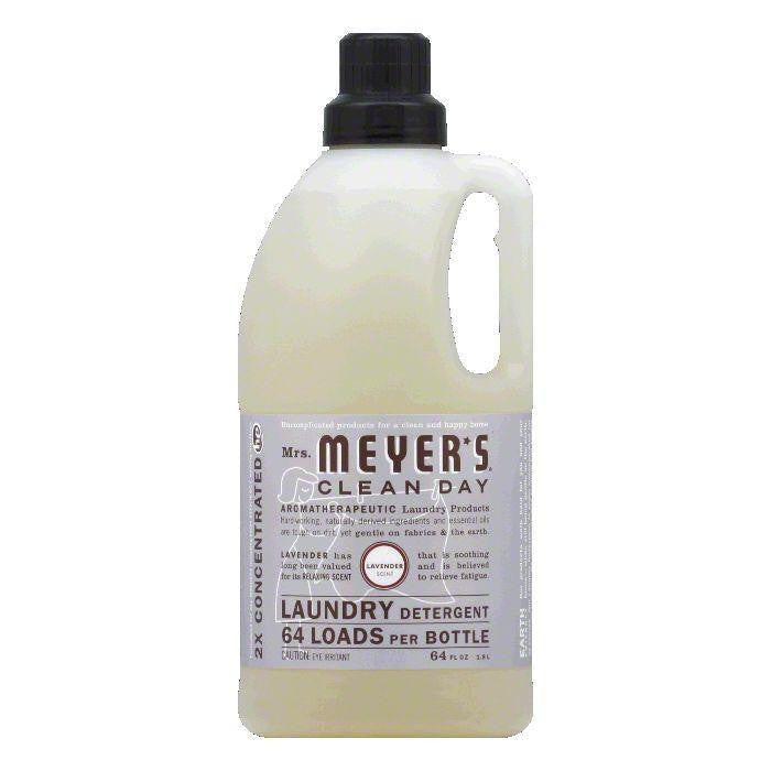 Mrs. Meyers Lavendar Laundry Detergent, 64 OZ (Pack of 6)