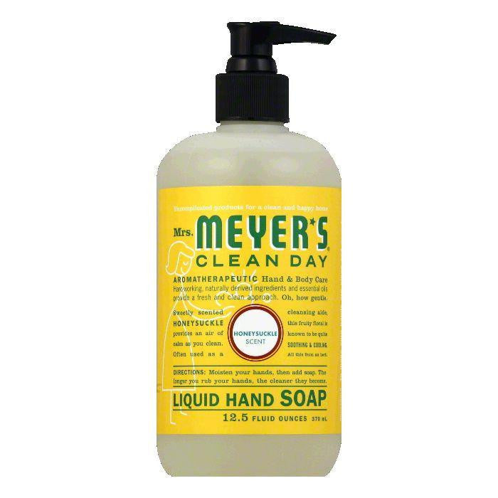 Mrs. Meyers Honeysuckle Liquid Hand Soap, 12.5 OZ (Pack of 3)