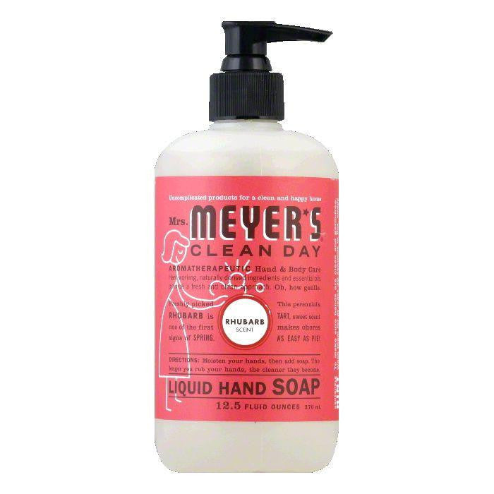 Mrs Meyers Rhubarb Scent Liquid Hand Soap, 12.5 Oz (Pack of 3)