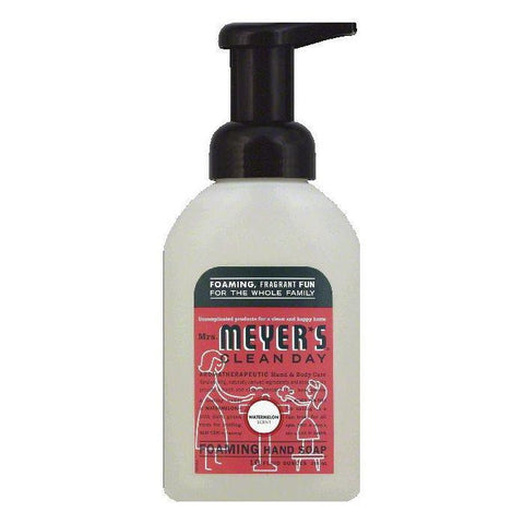 Mrs Meyers Watermelon Scent Foaming Hand Soap, 10 OZ (Pack of 3)