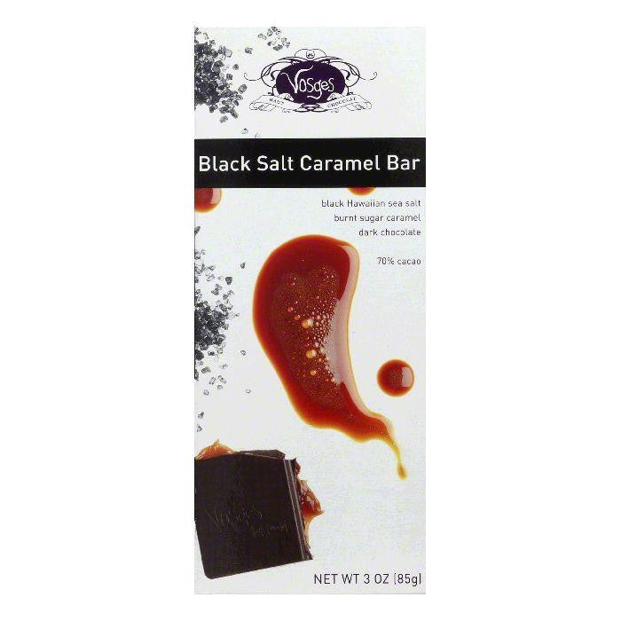 Vosges Haut Chocolate Black Salt Caramel Bar, 3 OZ (Pack of 12)