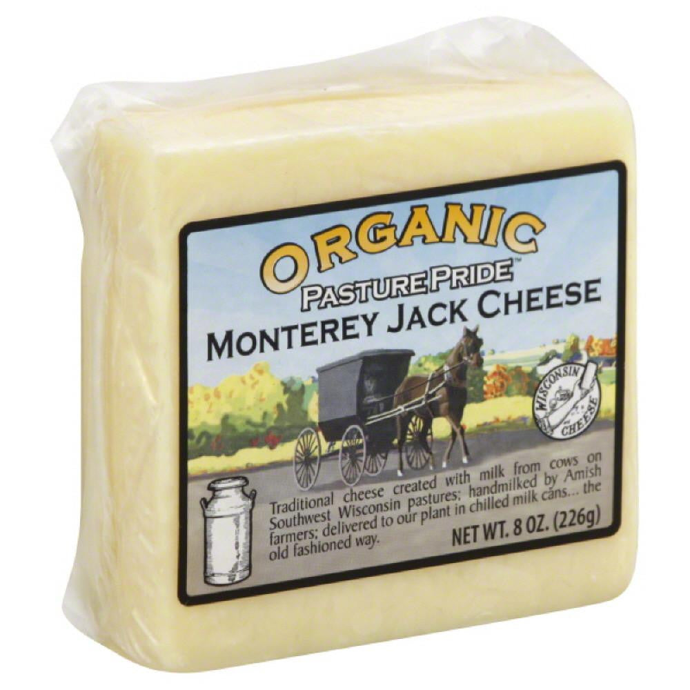 Pasture Pride Monterey Jack Cheese, 8 Oz (Pack of 12)