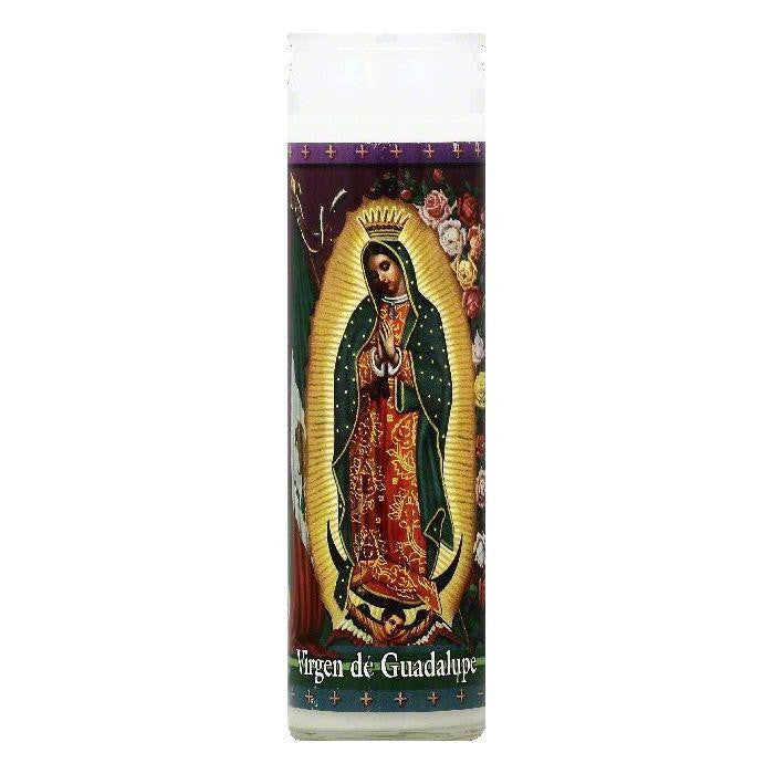 St Jude Candle 8.25 In Virgen de Guadalupe Candle, 1 ea (Pack of 12)