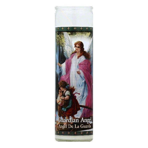 St Jude Candle Guardian Angel 8.2 inch Candle, 1 ea (Pack of 12)