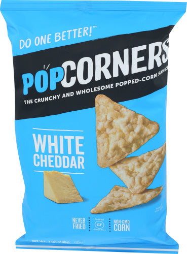 POPCORNERS, White Cheddar, 7 OZ (Pack of 12)