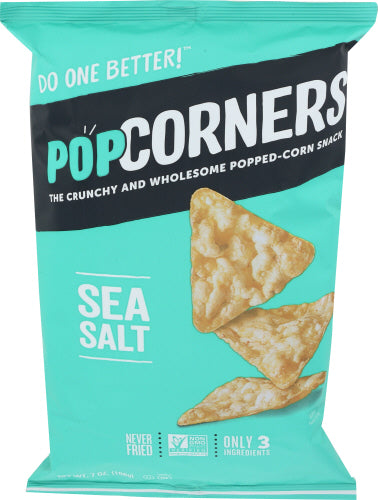 POPCORNERS, Sea Salt, 7 OZ (Pack of 12)