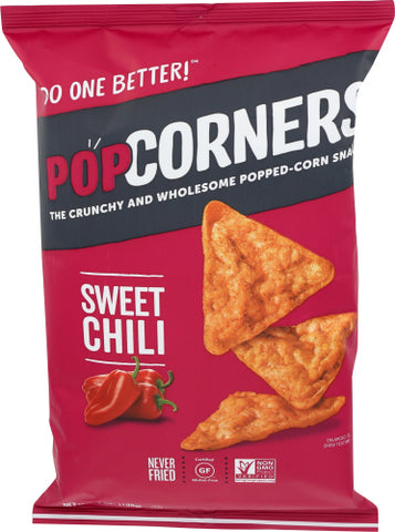 POPCORNERS, Sweet Chili, 7 OZ (Pack of 12)