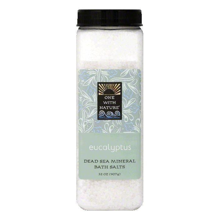 One with Nature Eucalyptus Bath Salts, 32 OZ (Pack of 6)
